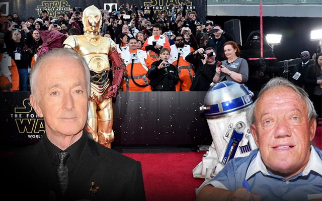 R2D2 and C3PO Actors Continue 40 Year Feud