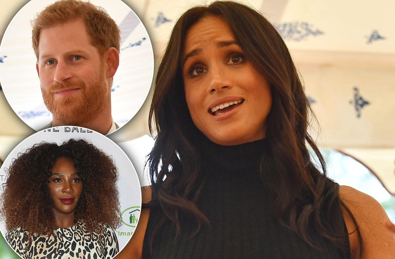 Meghan Markle Relying Serena Williams Marriage Troubles