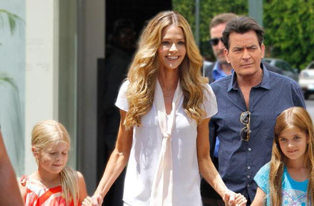 //denise richards charlie sheen millions daughters trust fund pp