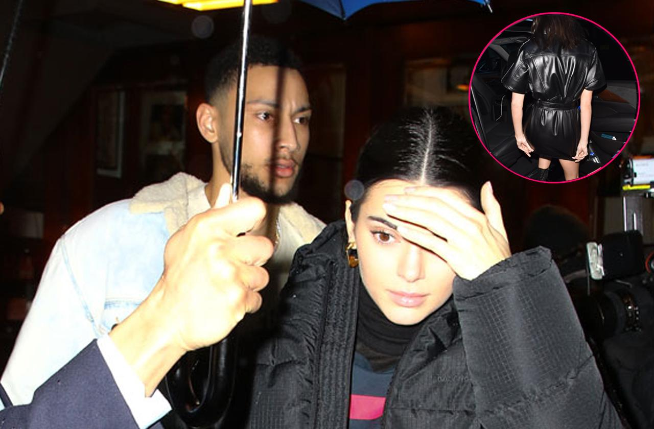 //kendall jenner and ben simmons spotted together pp