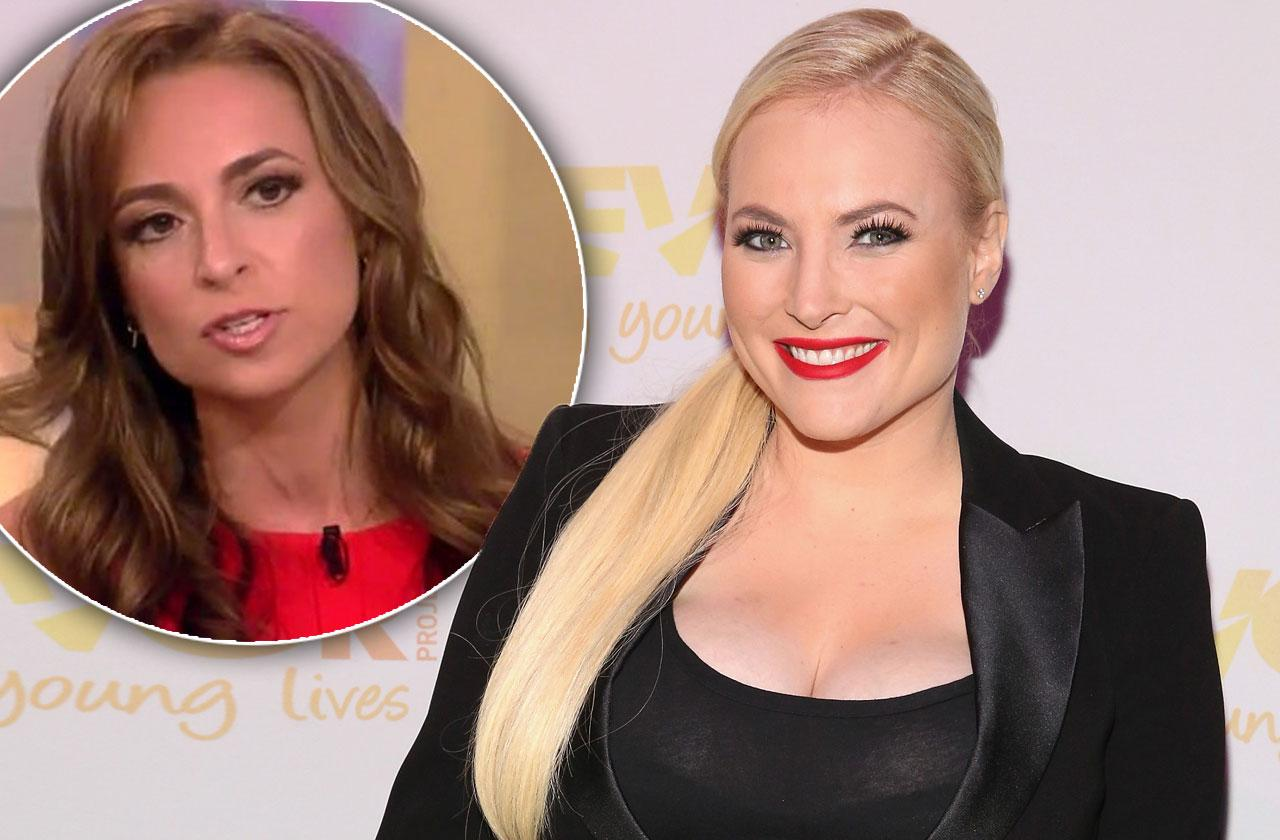 //Meghan McCain Replace Jedediah Bila The View pp