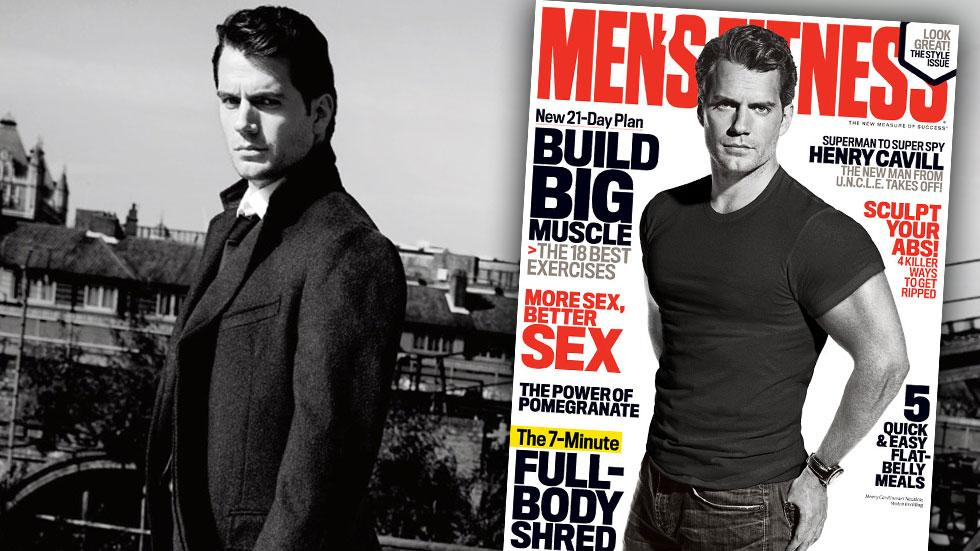 Henry Cavill Mens Fitness The Man From Uncle