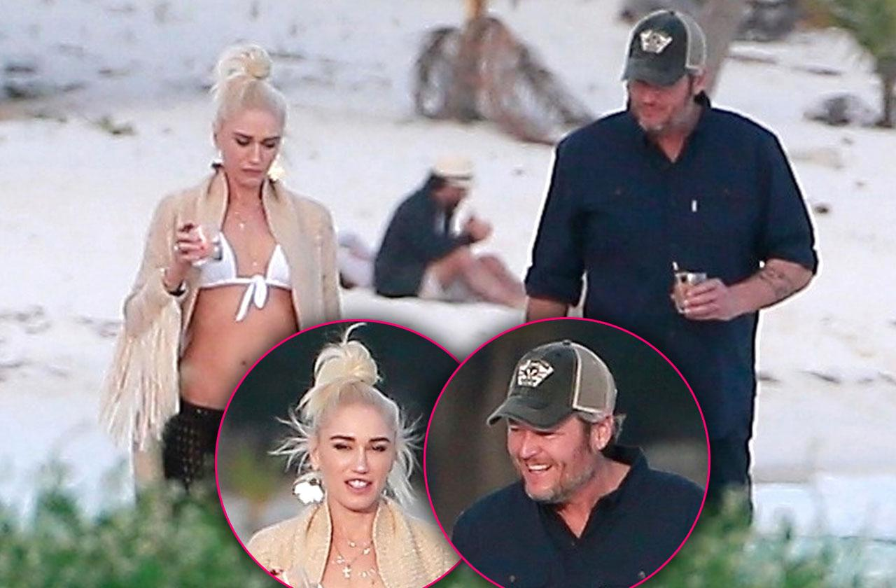 Gwen Stefani Bikini Blake Shelton Mexico Vacation