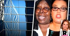 //rosie o donnell whoopi goldberg the view abc contract war pp sl