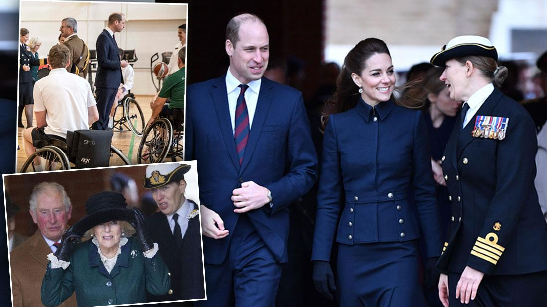Prince William & Prince Charles Attend Same Engagement