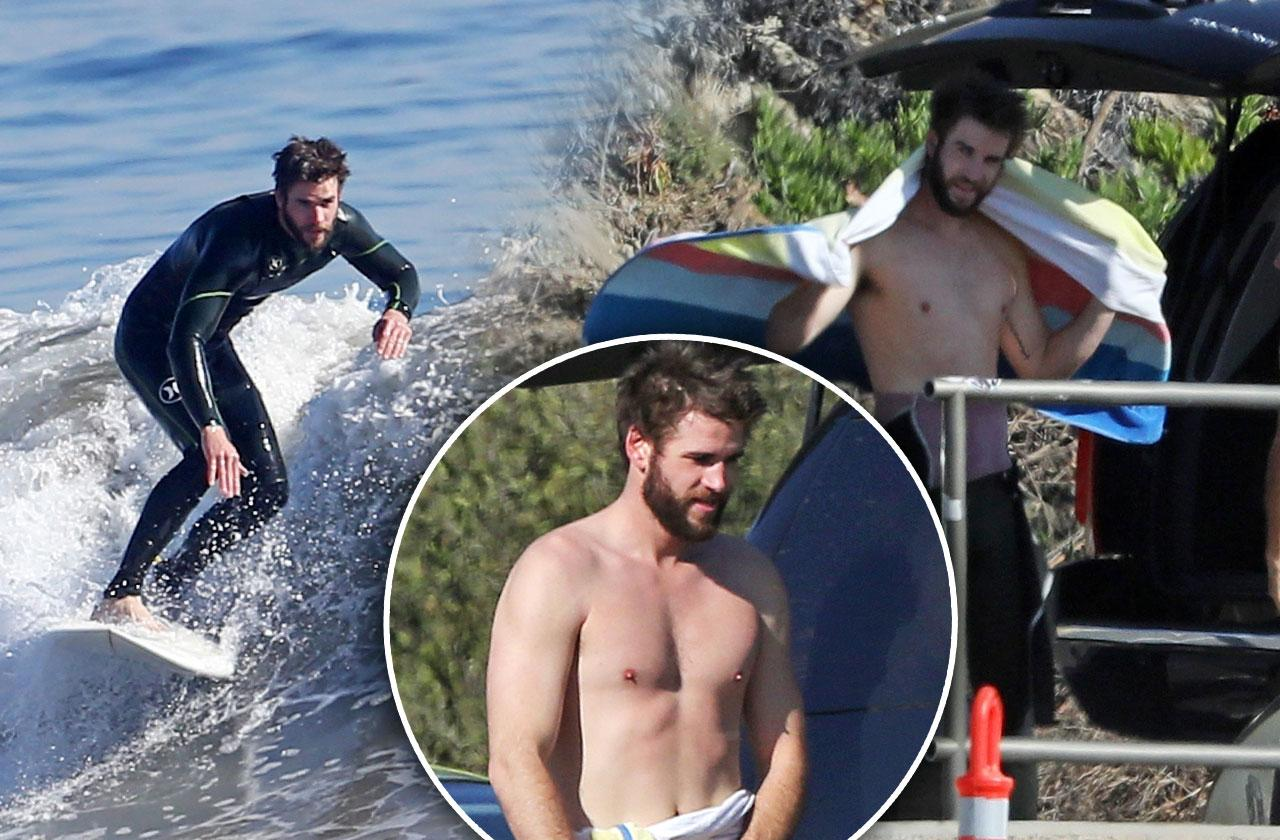 Liam Hemsworth Shirtless Photos