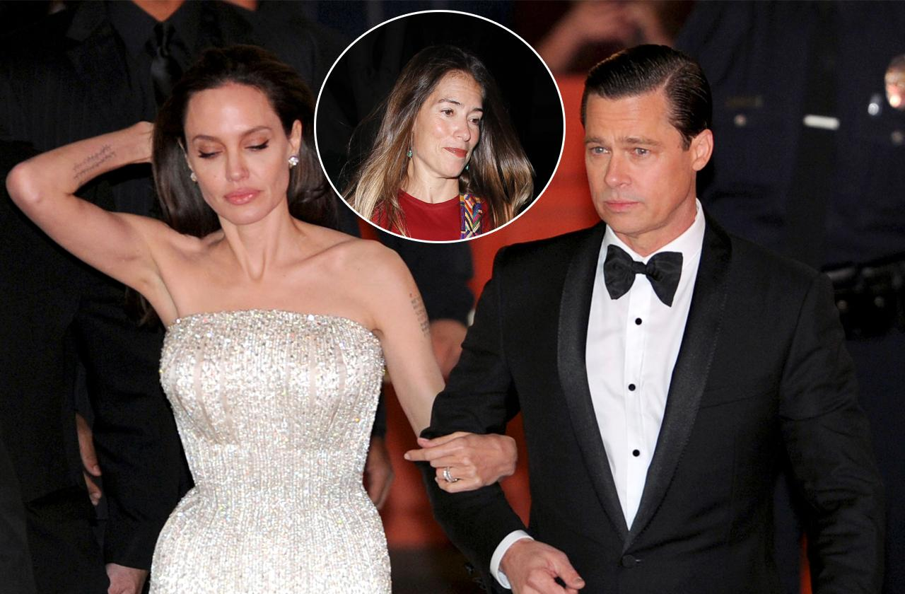 //angelina jolie denies she is splitting with divorce lawyer pp