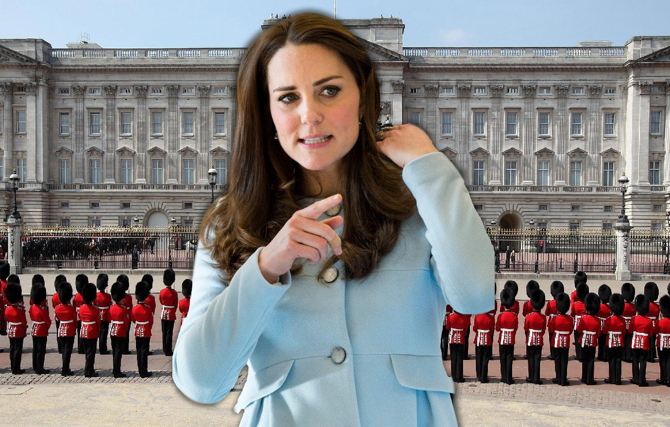 Palace Steps Up Security To Protect Pregnant Kate Middleton