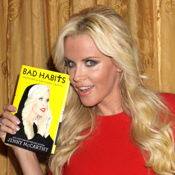//jenny mccarthy dishes dirt book