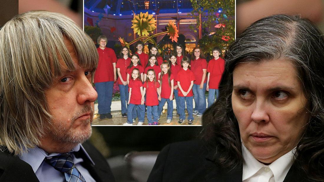 David & Louise Turpin To Be Sentenced After Torturing 13 Kids