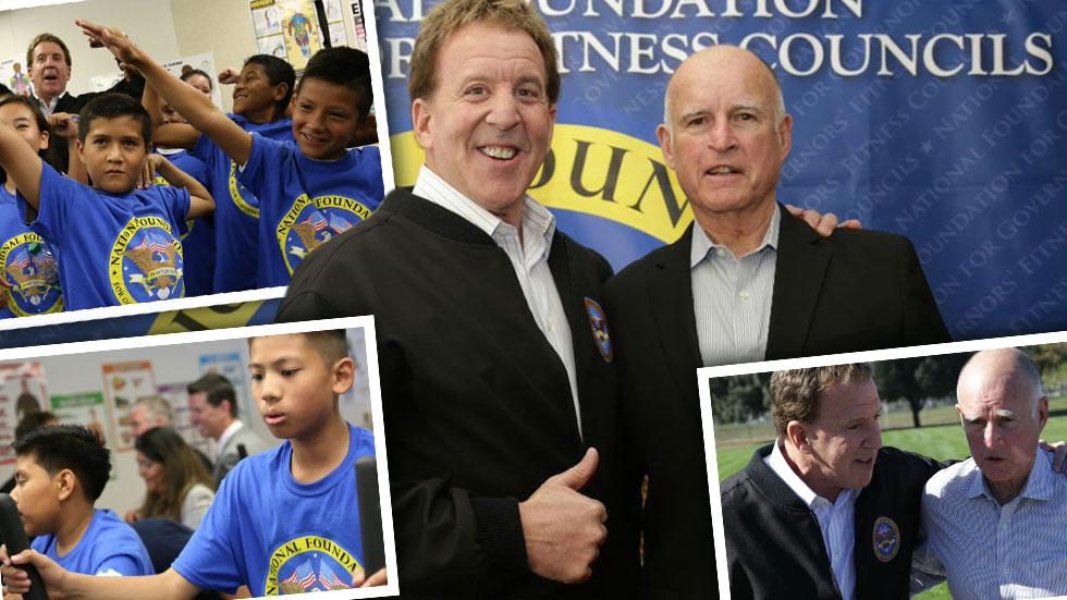//jake steinfeld calif gov jerry brown