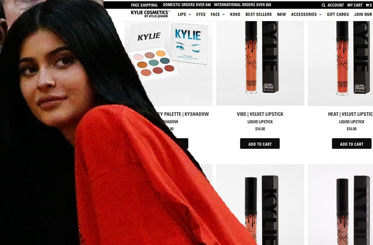 //kylie jenner makeup empire in jeopardy amid pregnancy drama pp