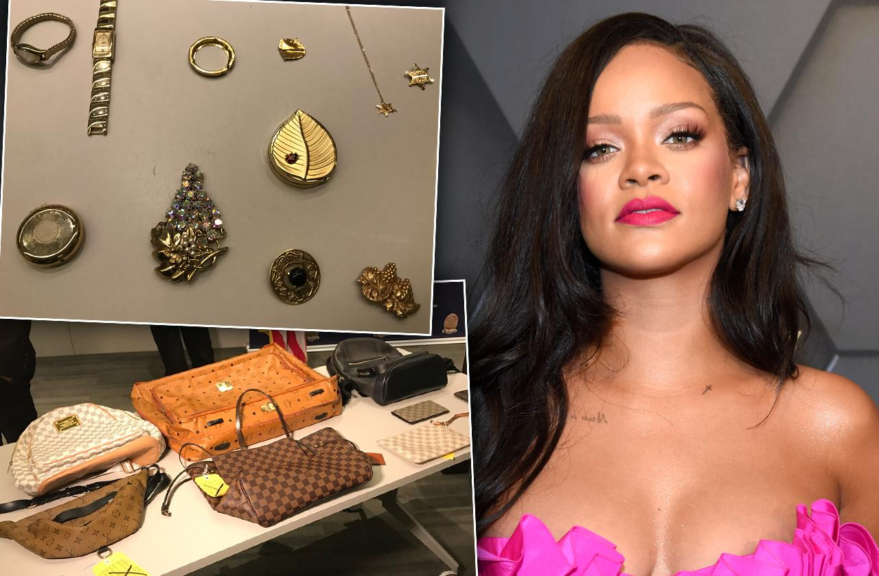 Rihanna Robbery Arrests Four People