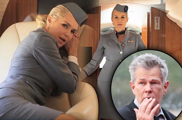 Yolanda Foster Ex David Foster Stewardess Music Video Wedding Present