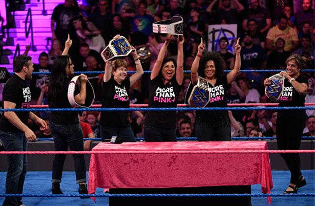 wwe susan g komen honor 5 women who took action to fight breast cancer