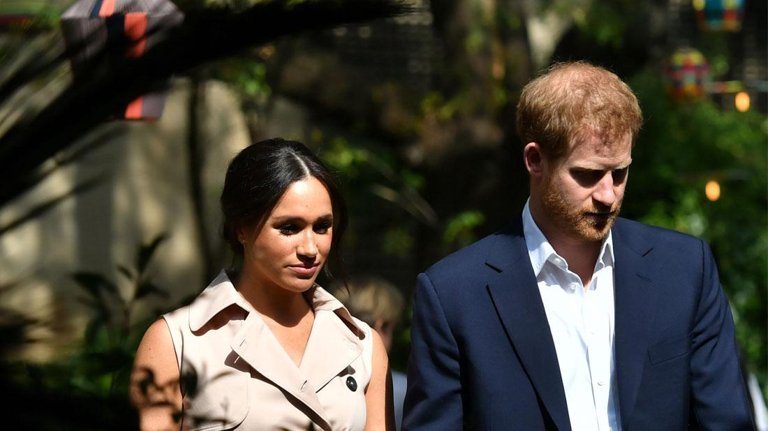 Meghan Markle & Prince Harry Nix 'SussexRoyal' For Territory