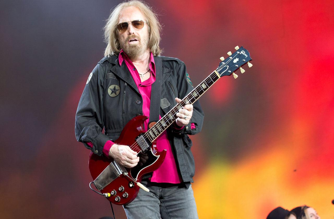 //tom petty heart attack cardiac arrest rushed hospital pp