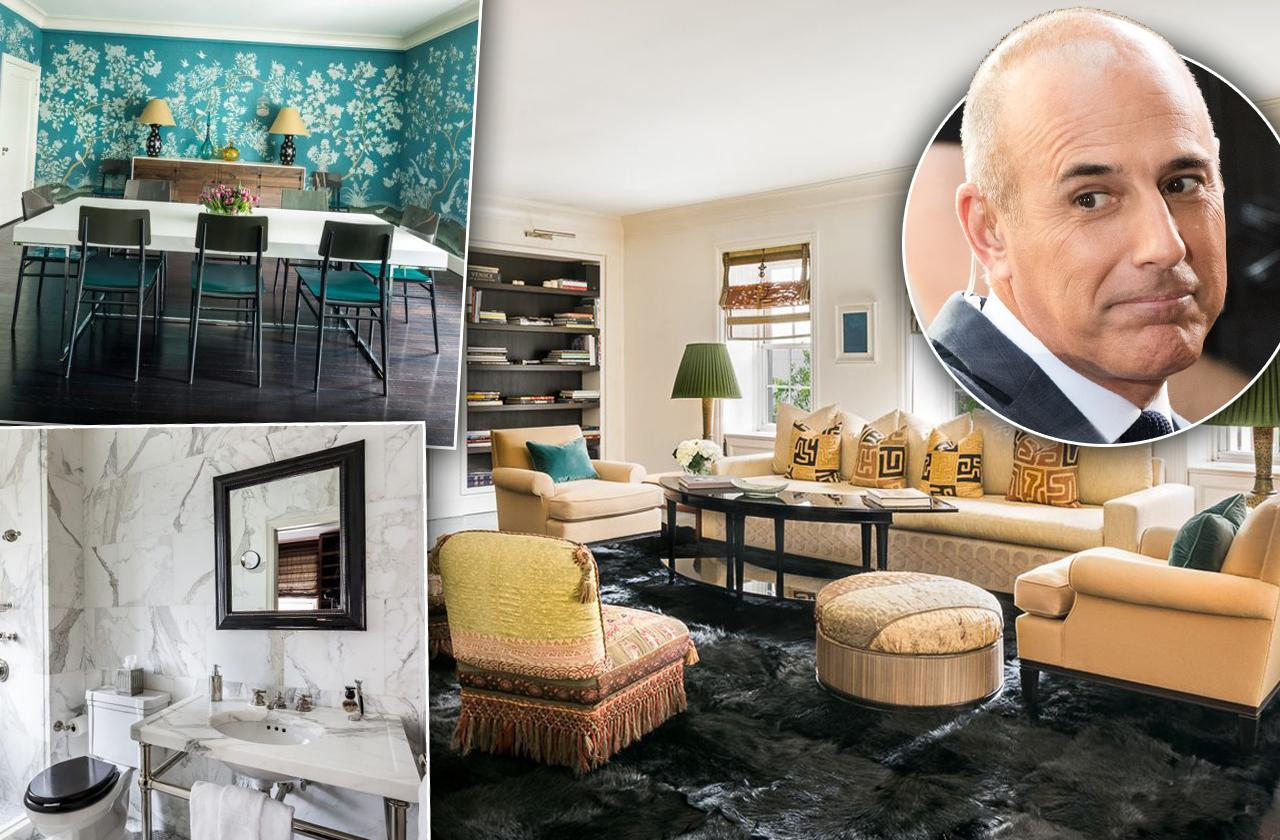 Matt Lauer Manhattan Apartment For Sale 7 Million