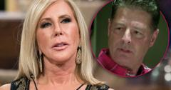 vicki gunvalson boyfriend steve lodge accused leaving family divorce