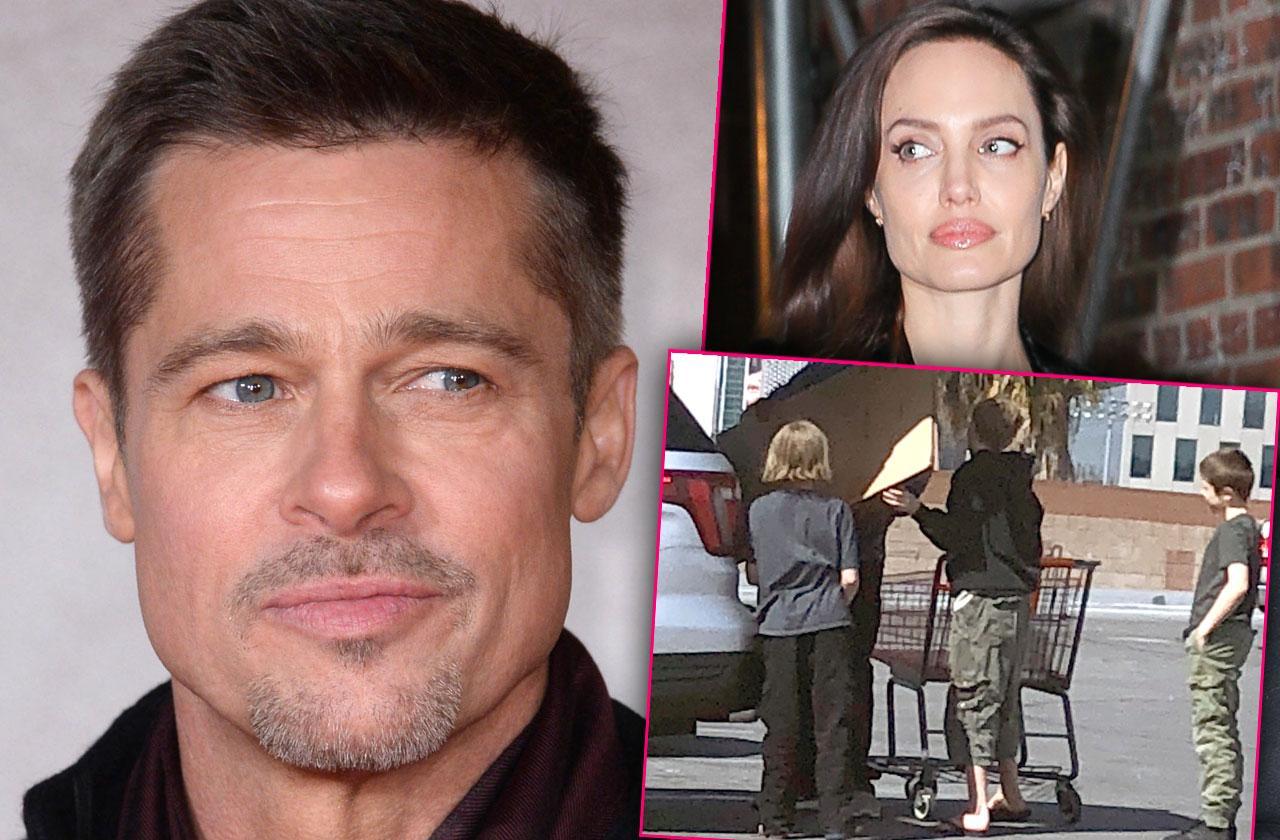 Brad Pitt Angelina Jolie Custody Fight Demands Judge Lock Court Documents