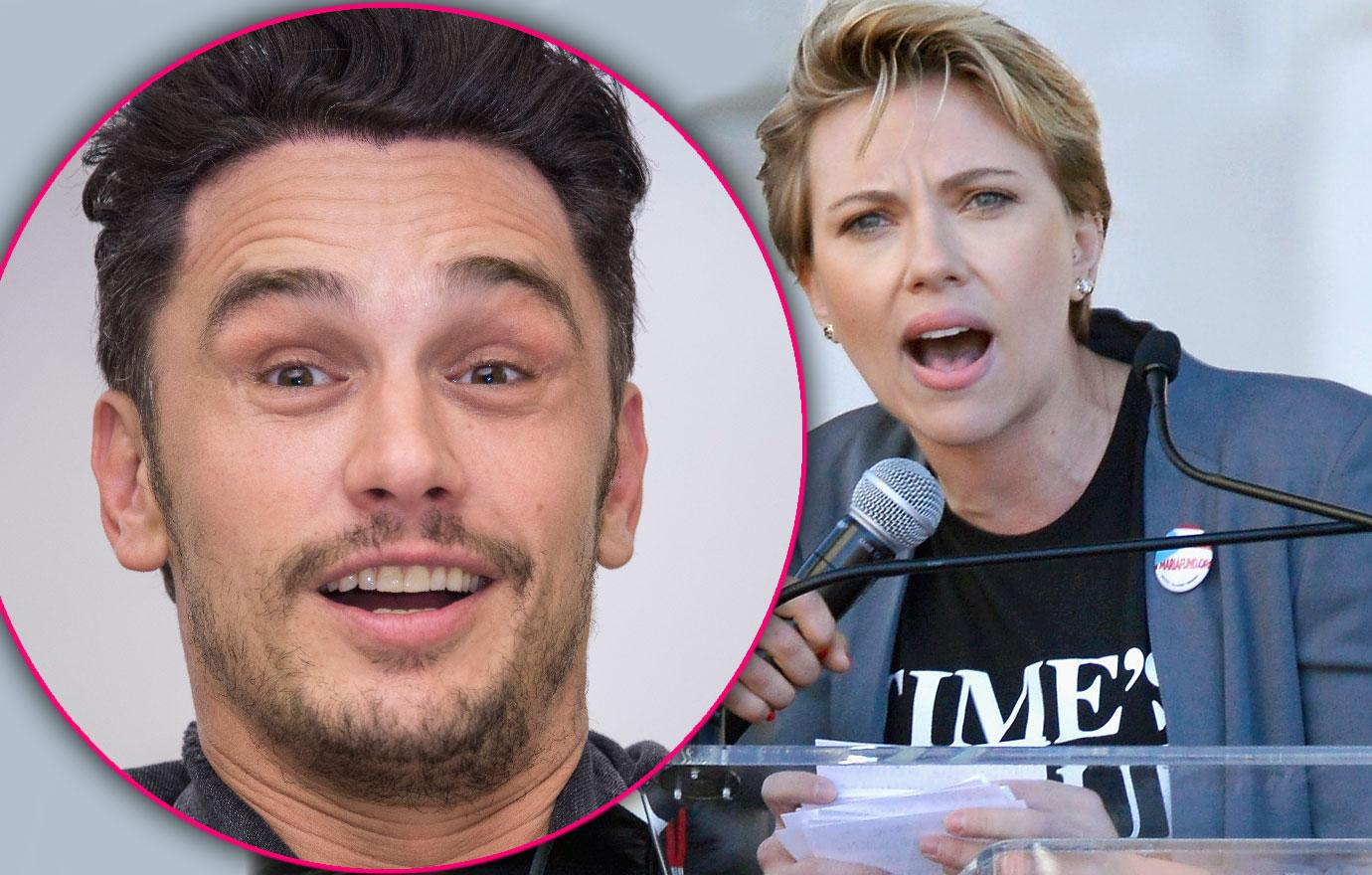 Scarlett Johansson Blasts James Franco Womens March