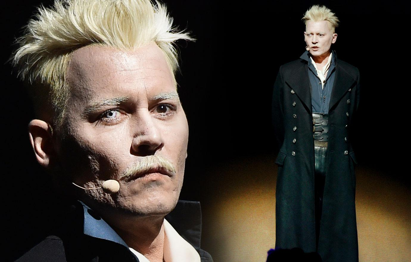 Johnny Depp Takes To The Stage At Comic-Con