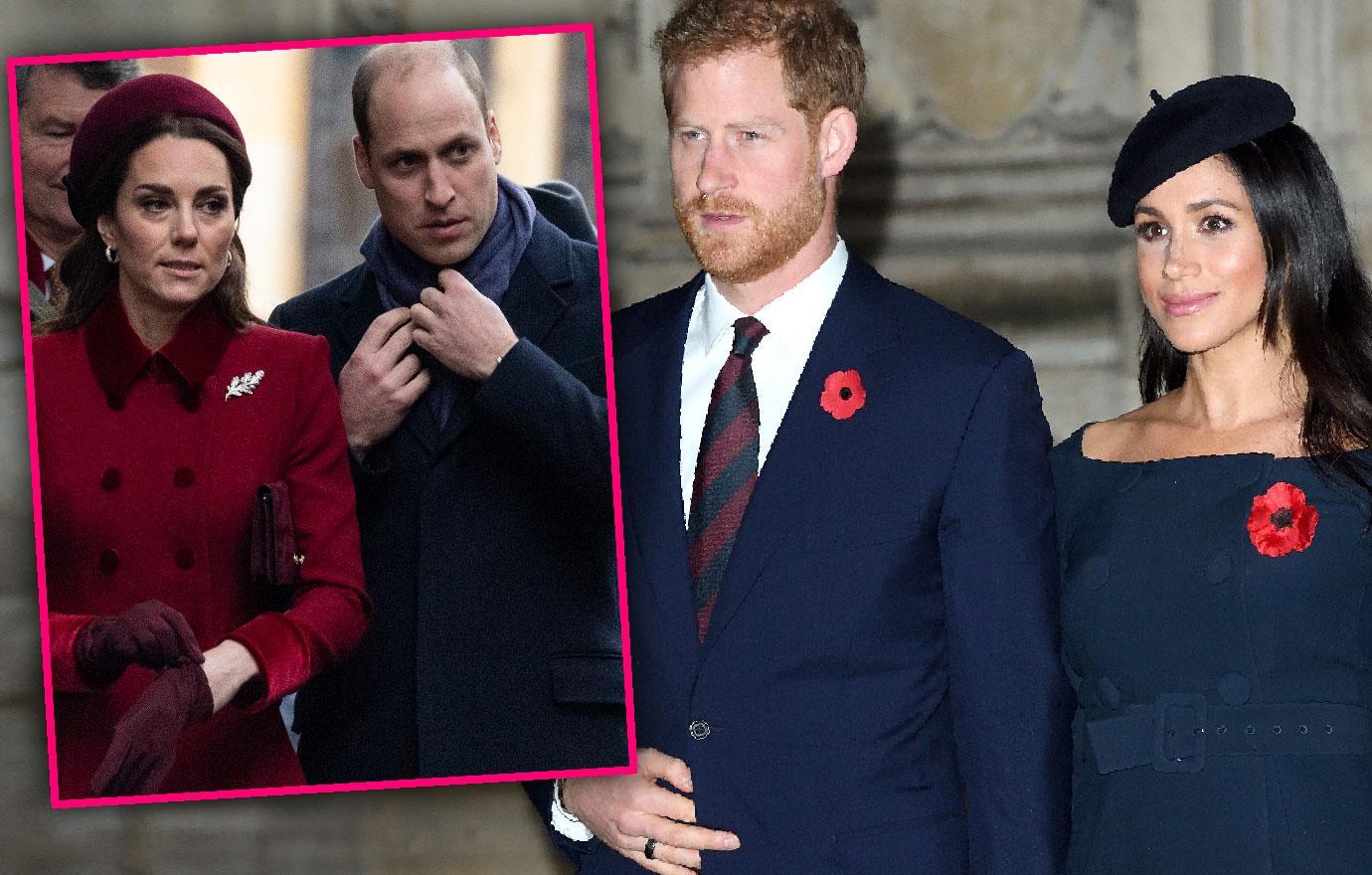 Meghan Markle And Harry Snub Kate Middleton Birthday Party