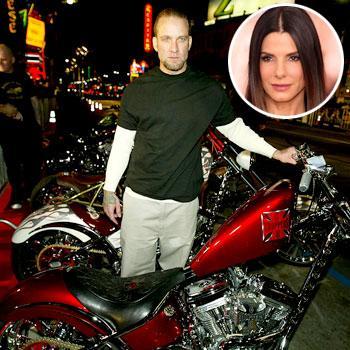 //jesse james motorcycle sandra bullock