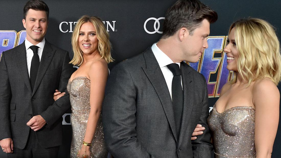 Scarlett Johansson Engaged To 'SNL' Star Colin Jost