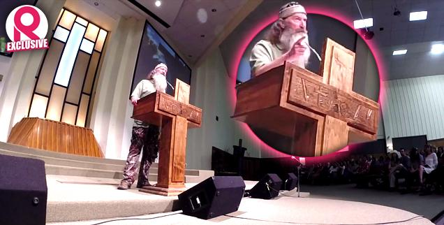 //duck dynasty phil robertson rants against wicked homosexual offenders disturbing new sermon claims doesnt regret previous hateful comments wide