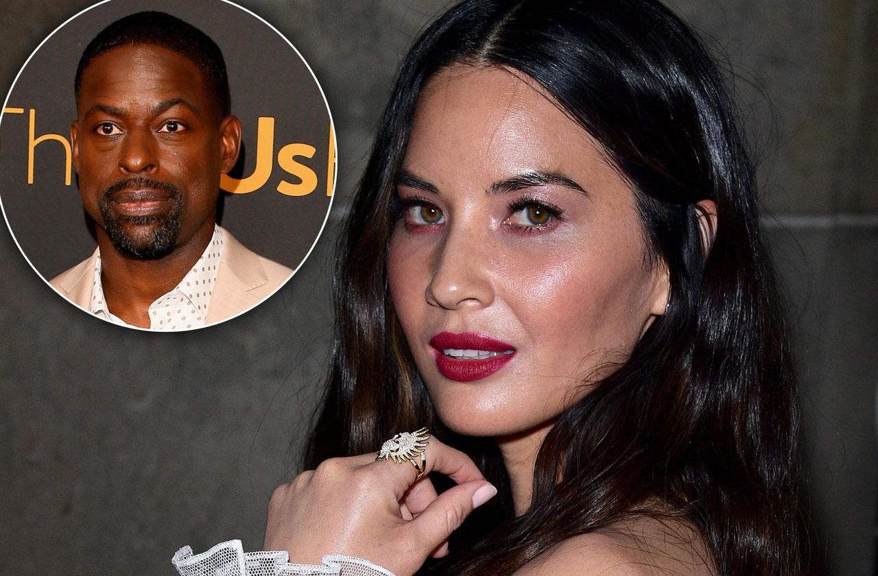 Sterling K Brown Defends Olivia Munn