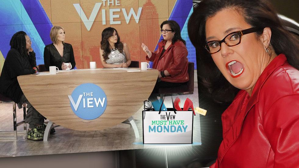 //rosie odonnell the view must have monday