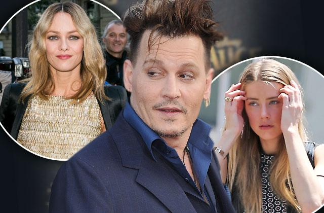 Johnny Depp Amber Heard Divorce Vanessa Paradis