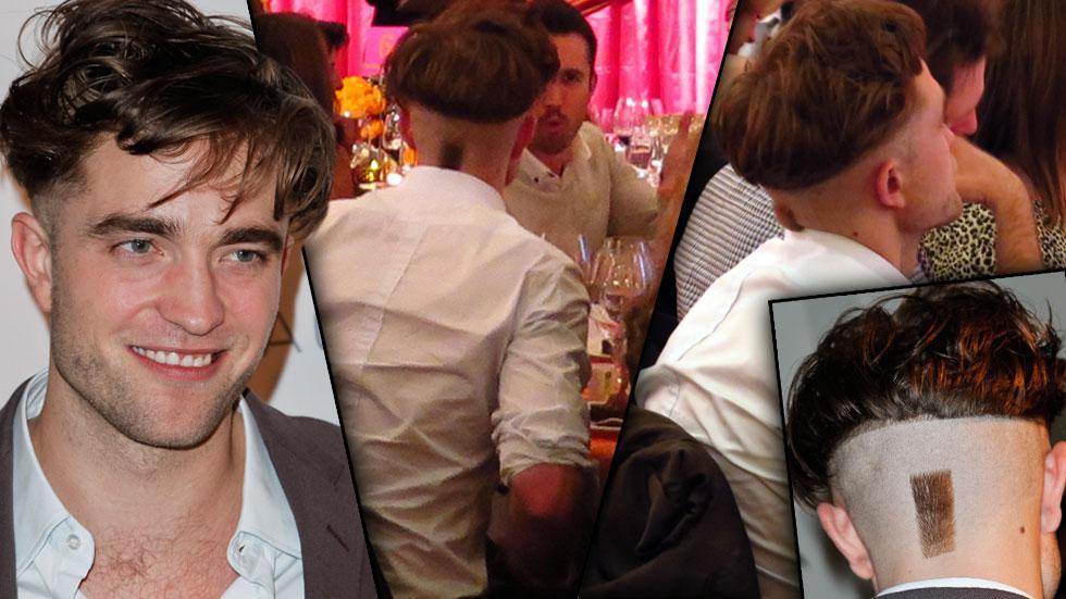 //robert pattinson new haircut