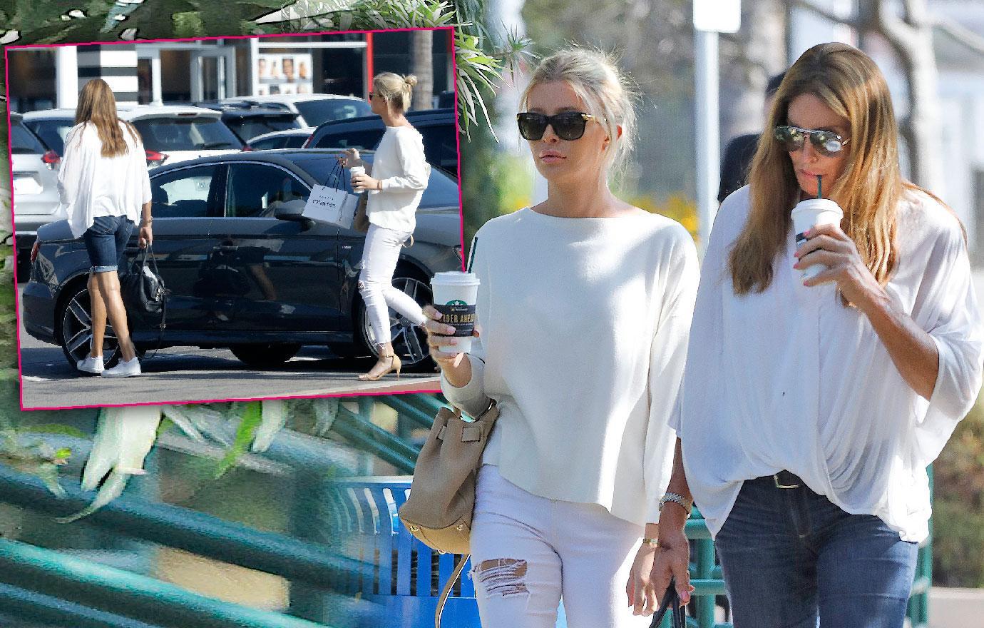 Caitlyn Jenner Girlfriend Sophia Hutchins Malibu Date