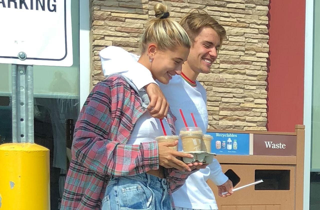 Justin Bieber Hailey Baldwin Happy Canada