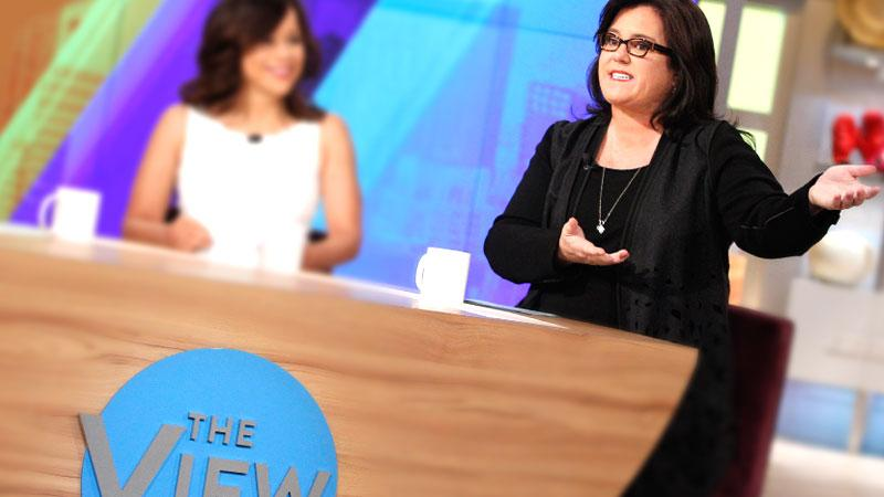 Rosie O'Donnell 'The View' Guest Apperances