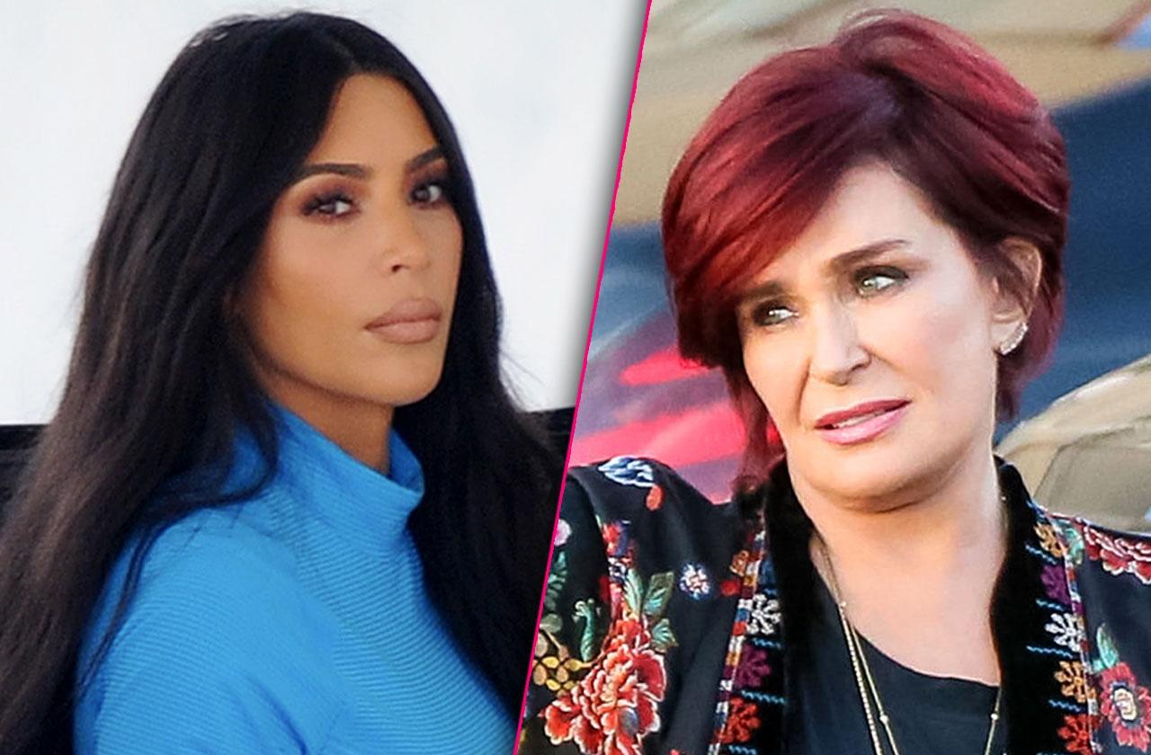 Kim Kardashian Wants Lawyers To Gag Sharon Osbourne