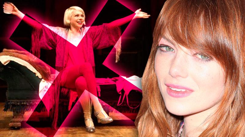 //emma stone replaces michelle williams cabaret pp sl