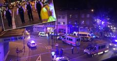 //London mosque worshippers trap terror attacker he shouts kill me pp