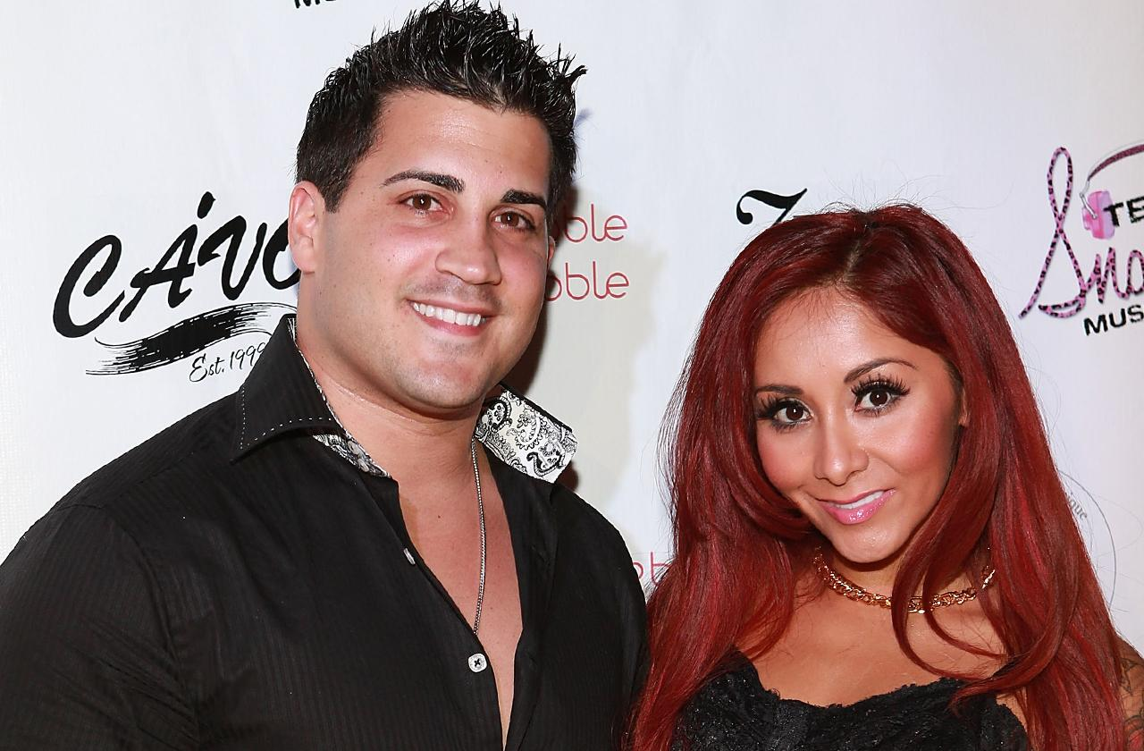 //nicole polizzi snooki jionni lavalle marriage scandals pp