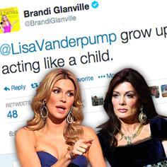 //brandi glanville you acting like a child lisa vanderpump twitter rhobh sq