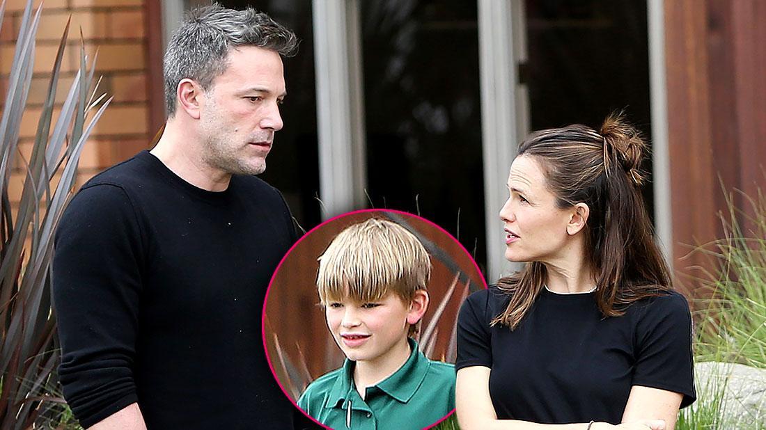 Jennifer Garner Ben Affleck Reunite For Son Birthday