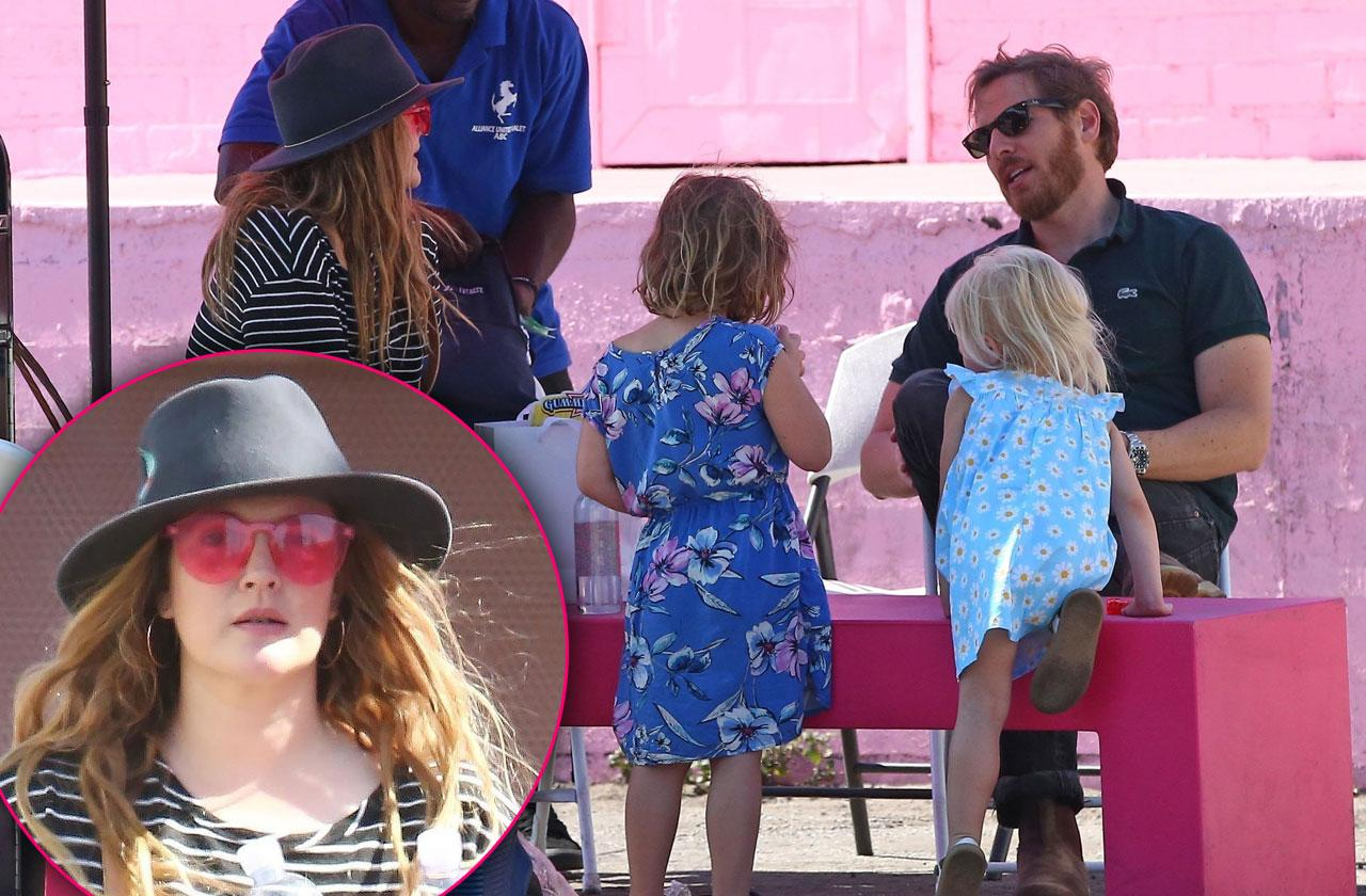 Drew Barrymore reunites with ex after cozying up to new man