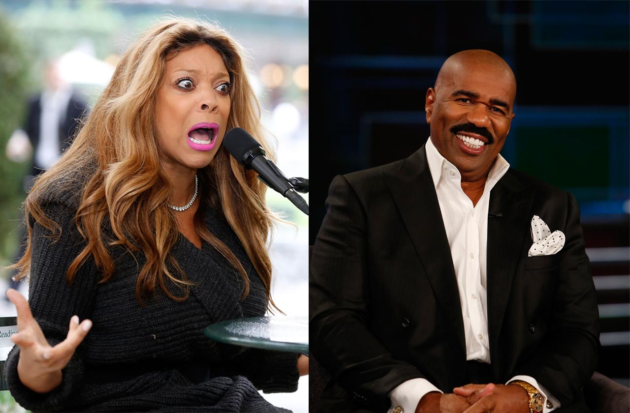 //steve harvey replace wendy williams amid health crisis pp