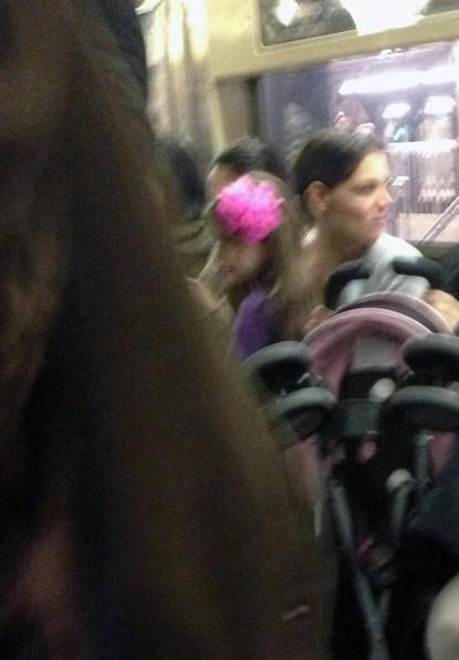 //katie holmes suri cruise subway