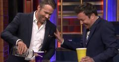 Ryan Reynolds Jimmy Fallon Pukes Drinking Game