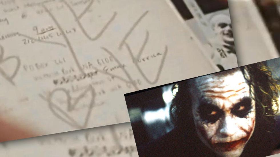 Heath Ledger Death Journal The Joker