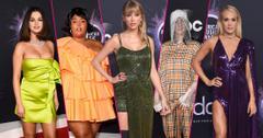 American Music Awards Red Carpet Celebrity Arrivals
