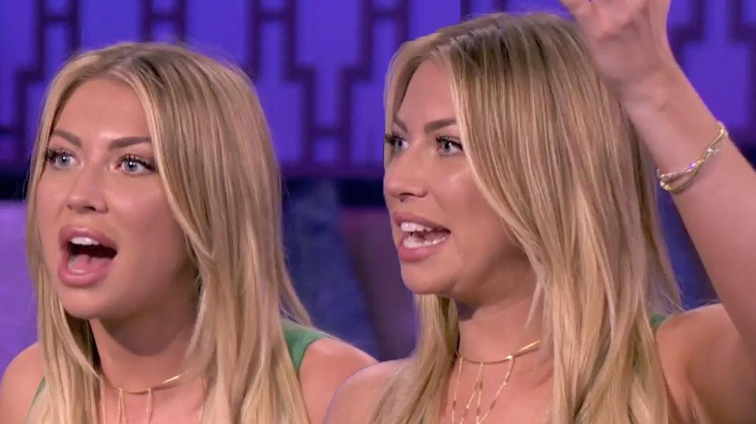 Vanderpump Rules Reunoin Stassi Schroeder Stopped Taking Adderall